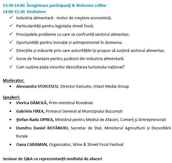Agenda 20 aprilie