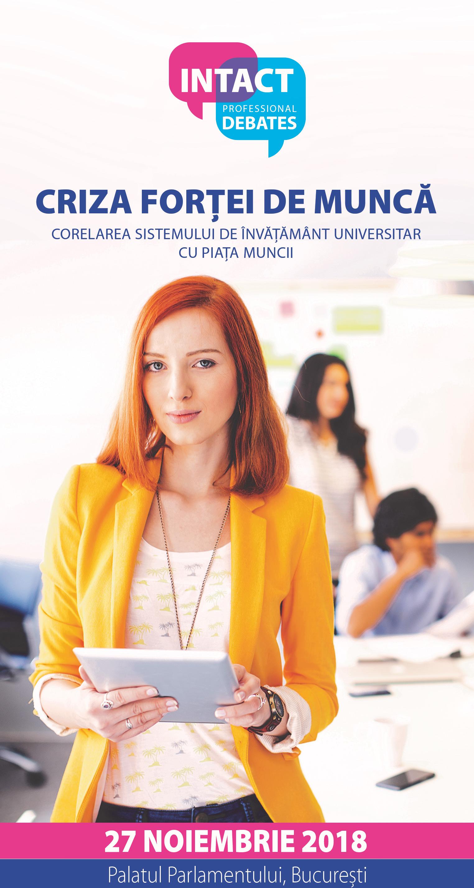 CRIZA FORȚEI DE MUNCĂ -  Corelarea sistemului de învățământ universitar cu piața muncii